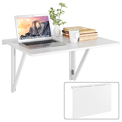 HOMFA 80x60CM Mesa Plegable de Pared Mesa...