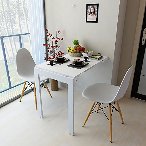 Mesa plegable Mesa de pared plegable Taburete de...