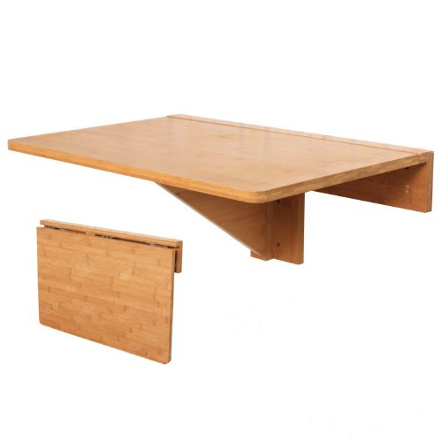 SoBuy® Mesa plegable de pared madera